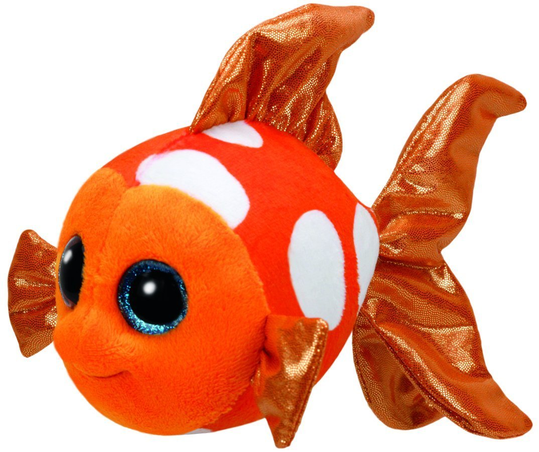 TY Beanie Boos - Sami The Orange Fish (Jumbo)