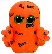 TY Beanie Boos - Ghoulie the Orange Ghost (Small)