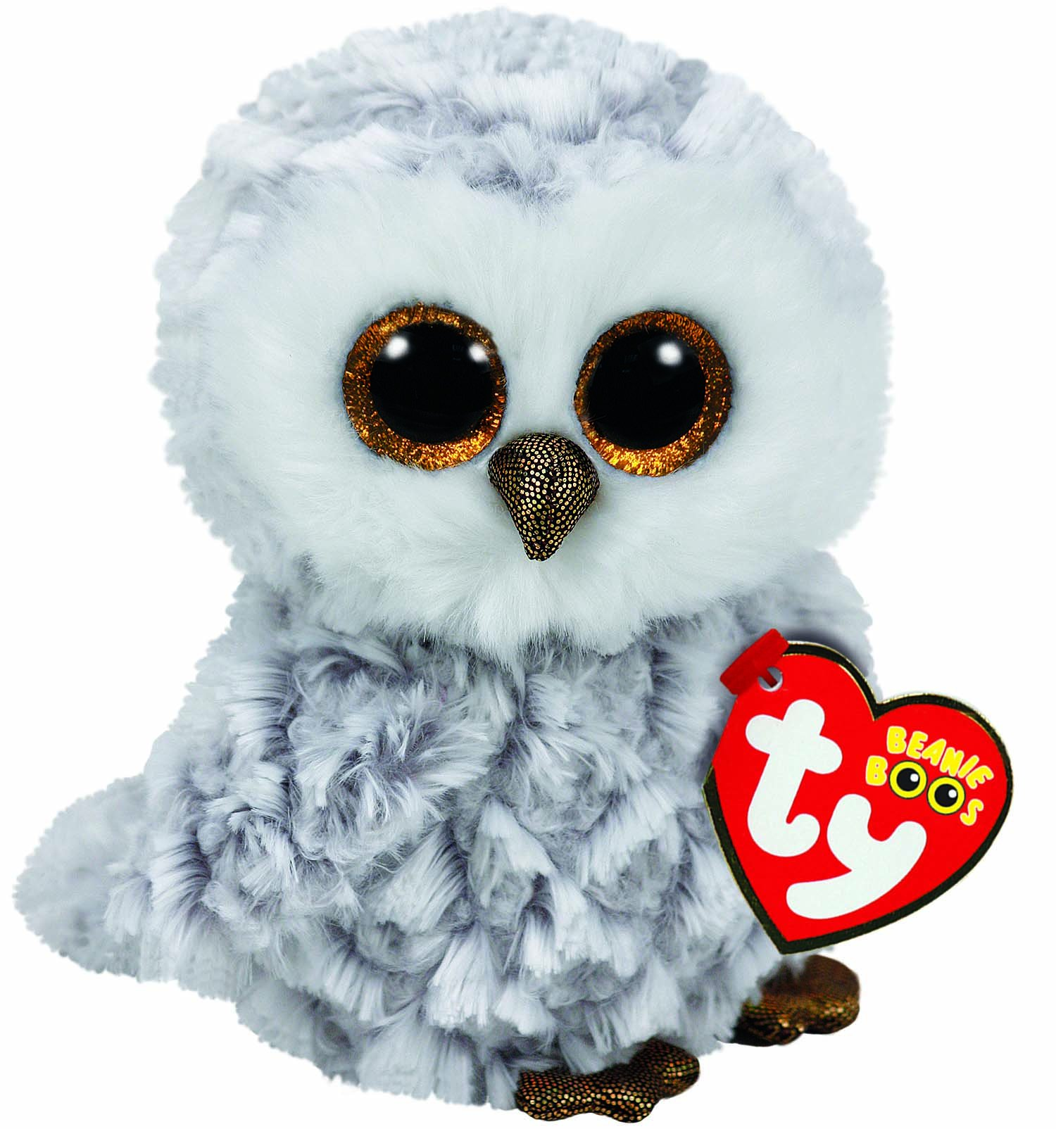 TY Beanie Boos - Owlette the White Owl (Small)