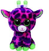 TY Beanie Boos - Gilbert the Pink Giragge (Small)