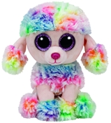 TY Beanie Boos - Rainbow the Poodle (Small)