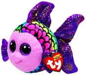 TY Beanie Boos - Flippy the Multicolored Fish (Small)