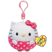 Ty Beanie Ballz Clip - Hello Kitty