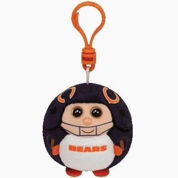 Ty Beanie Sports Ballz Clip - Chicago Bears