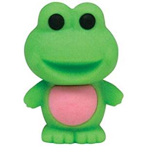 TY Beanie Eraserz Jumps The Frog