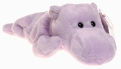 Ty Beanie Babies - Happy the Lavender Hippo