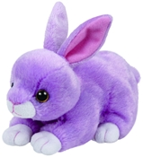 TY Beanie Babies - Dash the Purple Bunny (Small)