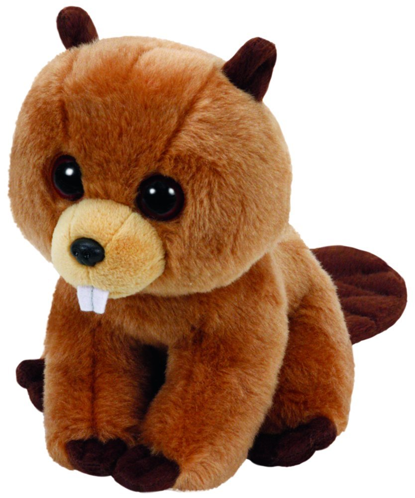 TY Beanie Babies - Richie the Brown Beaver (Small)