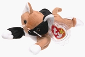 Ty Beanie Baby - Chip the Calico Cat
