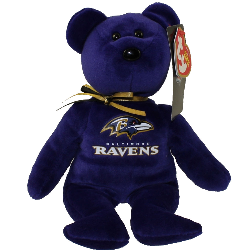 Baltimore Ravens Beanie Bear