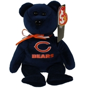 Chicago Bears Beanie Bear