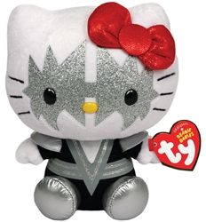 Ty Beanie Babies Hello Kitty - KISS Spaceman