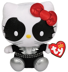 Ty Beanie Baby - KISS Catman Hello Kitty