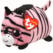 TY Teeny Tys - Pennie the Pink Zebra