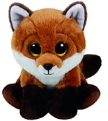 TY Beanie - Fay the Brown Fox (Small)