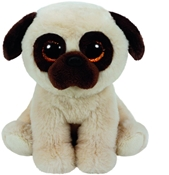 TY Beanies - Rufus the Pug (Small)