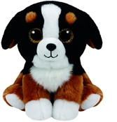 TY Beanies - Roscoe the Black and White Dog  (Small)
