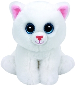 TY Beanie Boos - Pearl The White Cat (Medium)