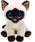 TY Beanie Boo Jaden The Siamese Cat (Medium)