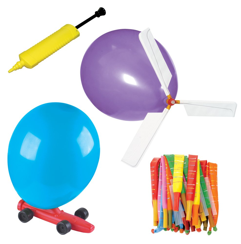 Balloon Powered Vehicle Set