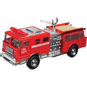 Die Cast Pull-Back Fire Engine