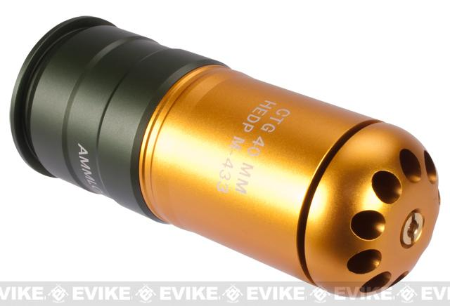(one) UFC HEDP M433 Type 120rd Airsoft 40mm Gas Grenade Shell