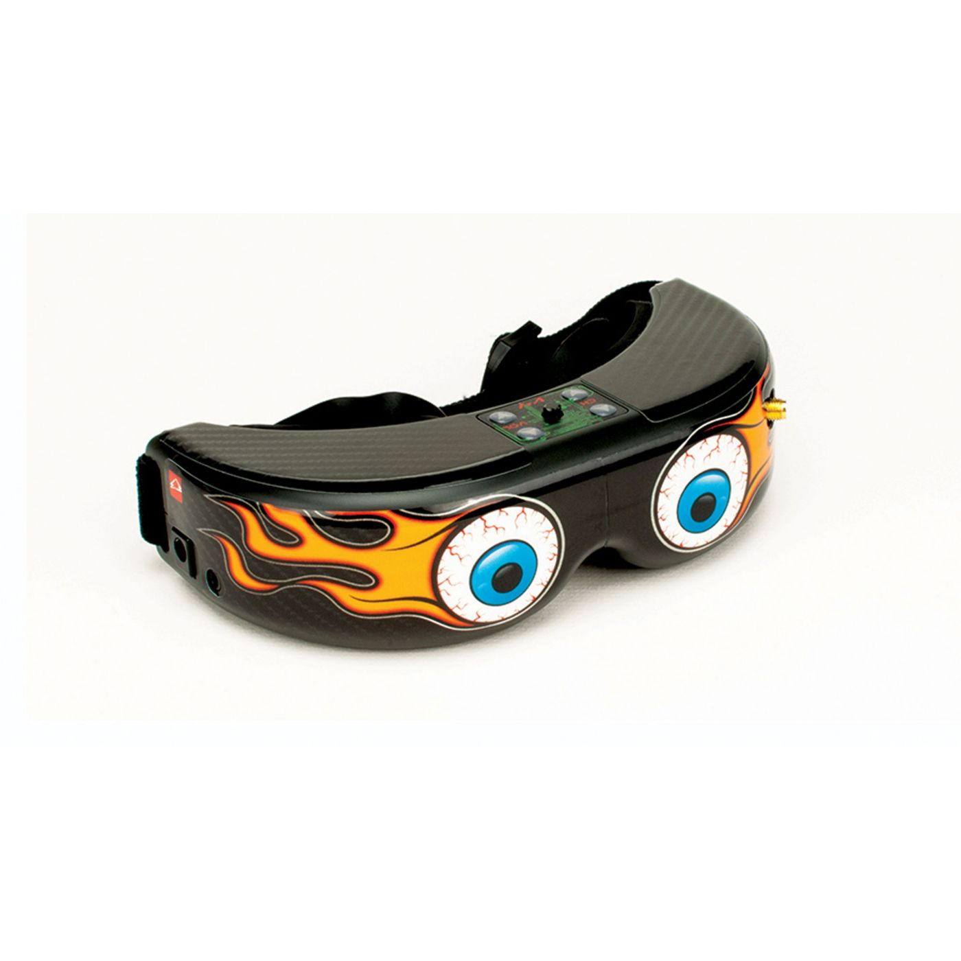 Upgrade FPV Goggle Skin Fire Eyes