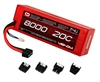 Venom 8000mAh 7.4V Double Cell 2S 20C Hard Case LiPo Pack - Universal Connector