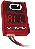 Venom Low Voltage Battery Monitor 2-8S