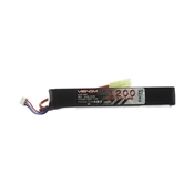 15309 LiPo 2S 7.4V 1200mAh 30C Mini Tamiya for Airsoft