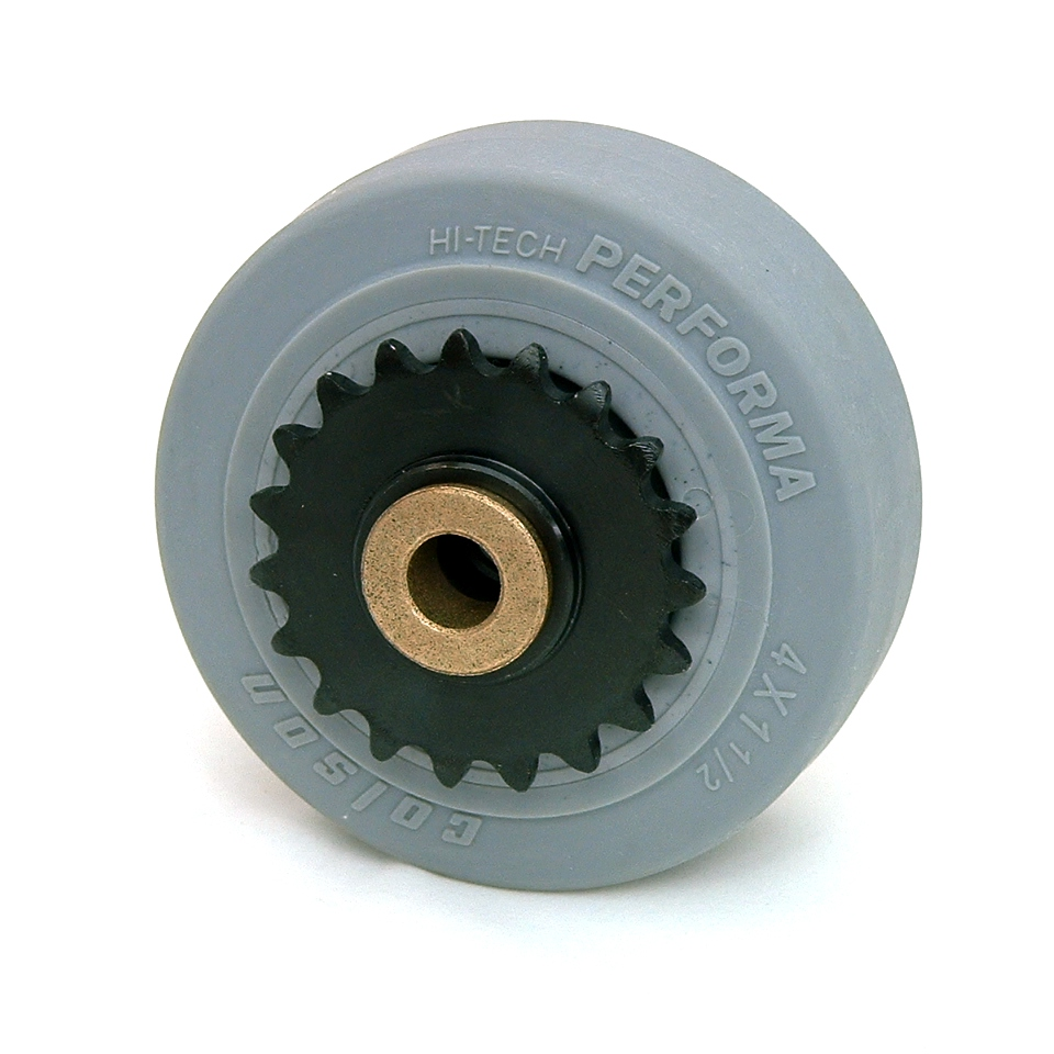 4 Inch BattleKit Robot Wheel - 19-Tooth Sprocket