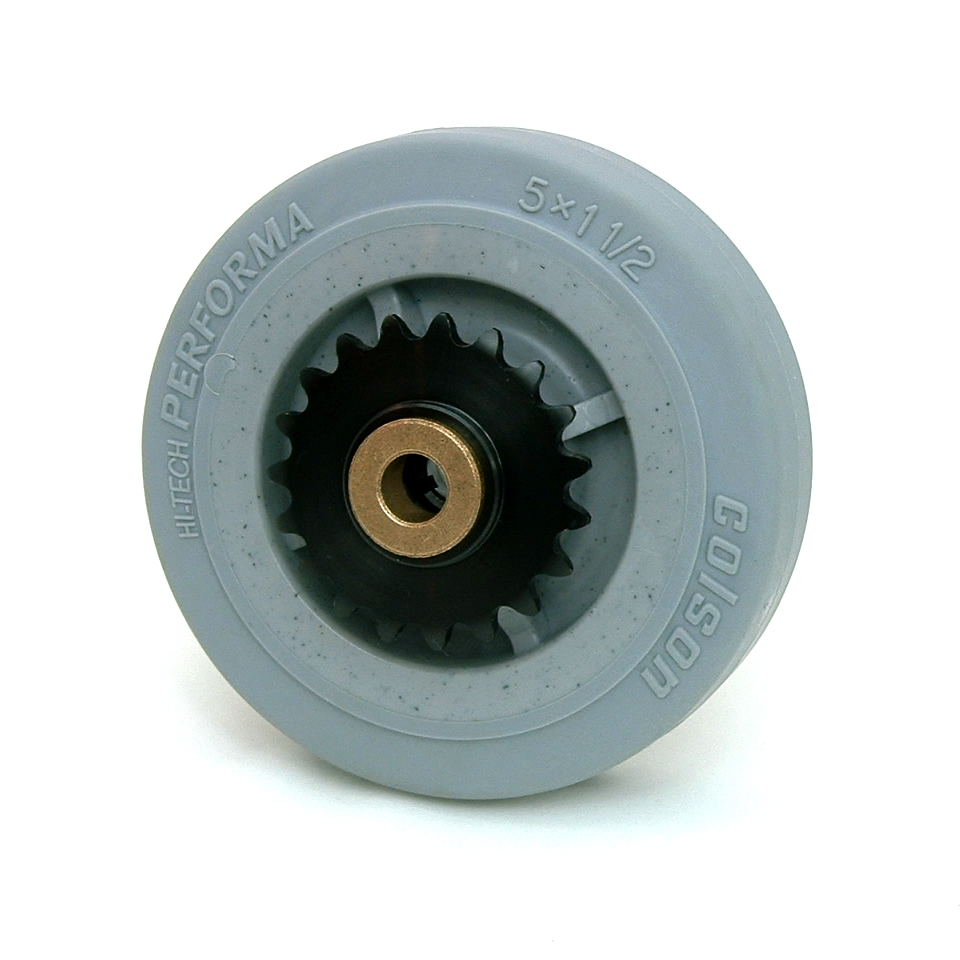 5 Inch BattleKit Robot Wheel - 19-Tooth Sprocket