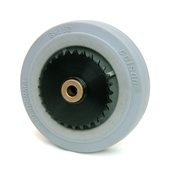 6 Inch BattleKit Robot Wheel - 28-Tooth Sprocket