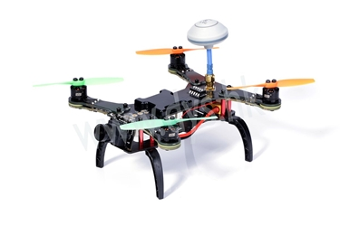 160MM FPV RACER WITH 4000KV. XM10A, 3020 PROP, F3 CLEANFLIGHT WITH OSD, 5.8G TRANSMITTER, 1/3 CMOS LENS FOV