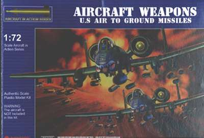 1/72 US Aircraft Weapons Air to Ground Missiles