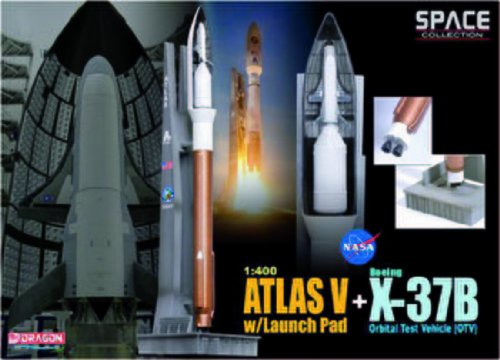 1/400 Atlas V with Launch Pad + OTV