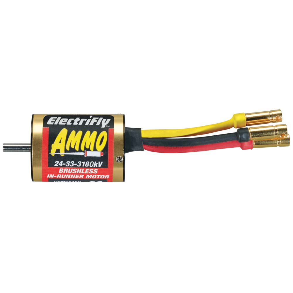 Great Planes Ammo 24-33-3180 In-Runner Brushless Motor