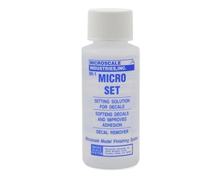 Micro Set Setting Solution, 1 oz by Microscale Industries