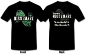 Team Nightmare Ladies T-Shirt size Youth M