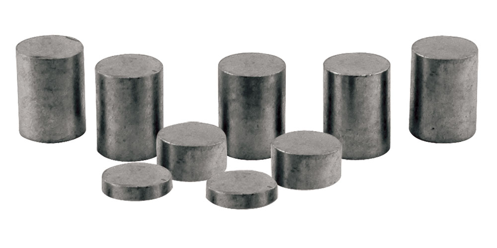 Tungsten Incremental Weights, 3 oz Cylinder