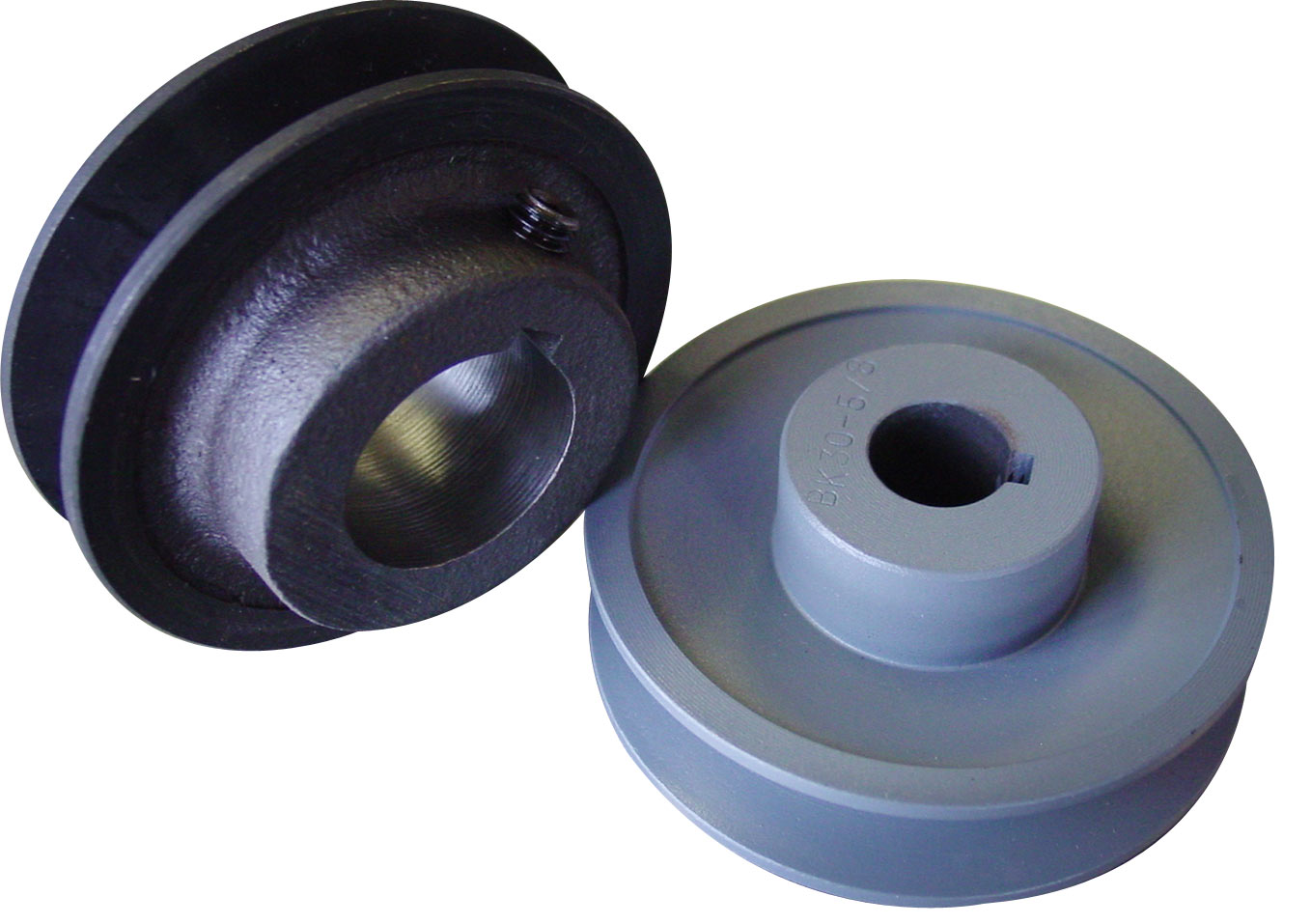3.15 Inch B-Size Pulley with Hub - 5/8in. bore