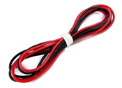 18 Gauge Silicone Wire - 30 each Red and Black