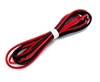 26 Gauge Silicone Wire - 30 each Red and Black