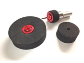 FingerTech Snap Wheels, 1.00 x 0.50 (pair)