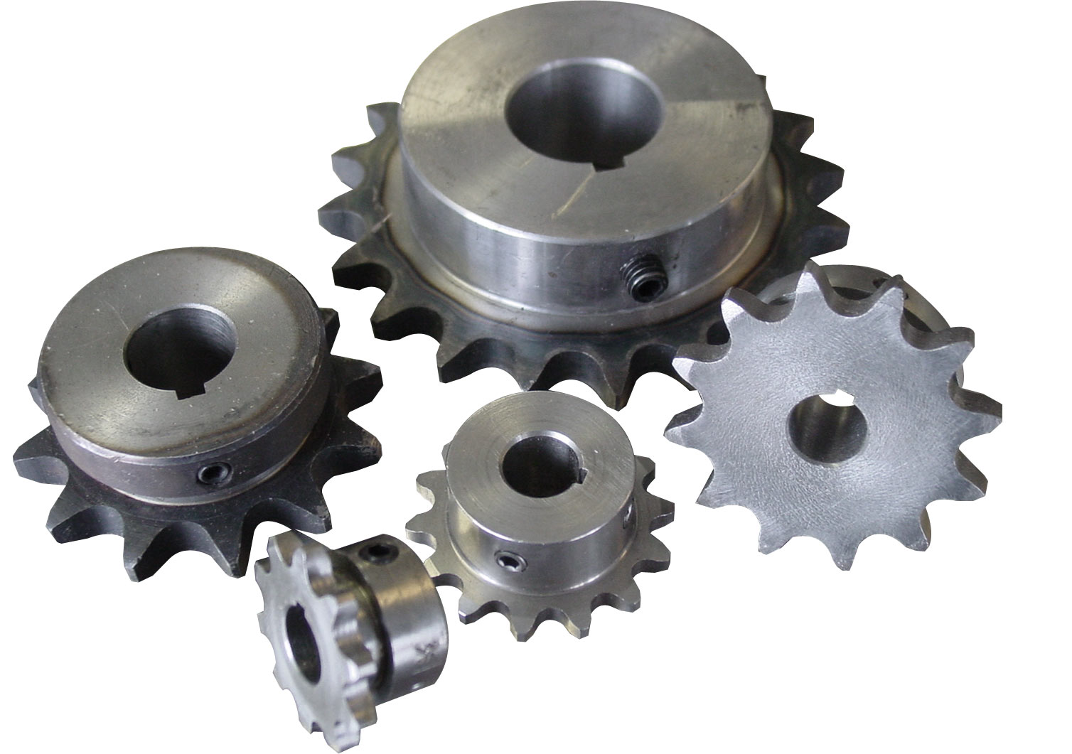 1/2 pitch Type B Sprocket - 15 teeth, 1-1/8 inch bore