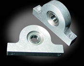 Mini Aluminum Pillow Block - 6mm bore