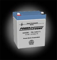 Powersonic PS-1250 F1 SLA 12V 5.0Ah Battery