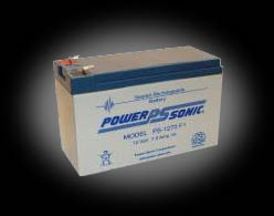 Powersonic PS-1270 F1 SLA 12V 7.0Ah Battery