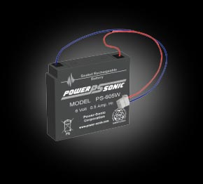 Powersonic PS-605 SLA 6V 0.5Ah Battery