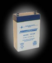 Powersonic PS-628 SLA 6V 2.9Ah Battery
